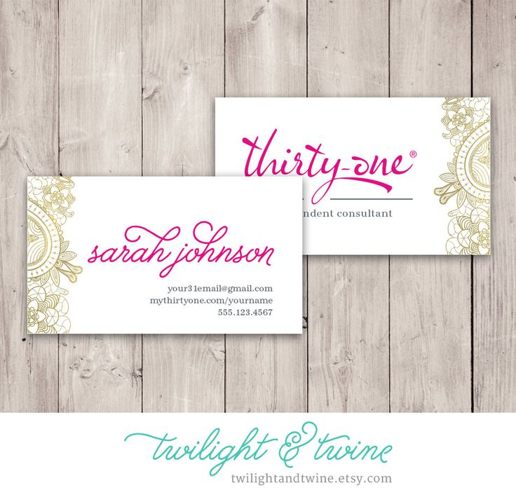 62 best Thirty One & Scentsy Business Cards images on Pinterest ...