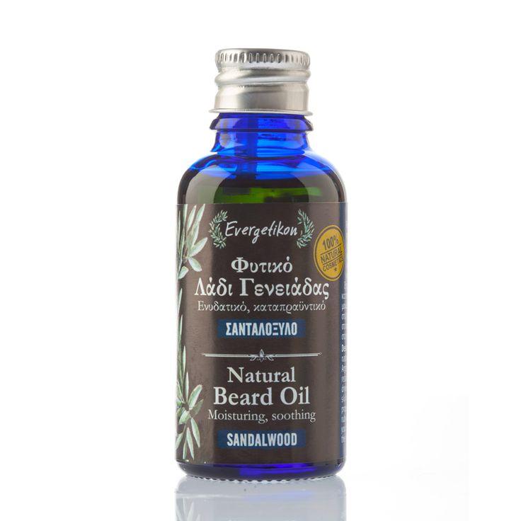 Natural Beard Oil with Sandalwood Evergetikon