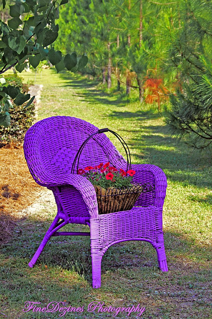 "Love the color of this chair!  ""great idea for my old furniture"""