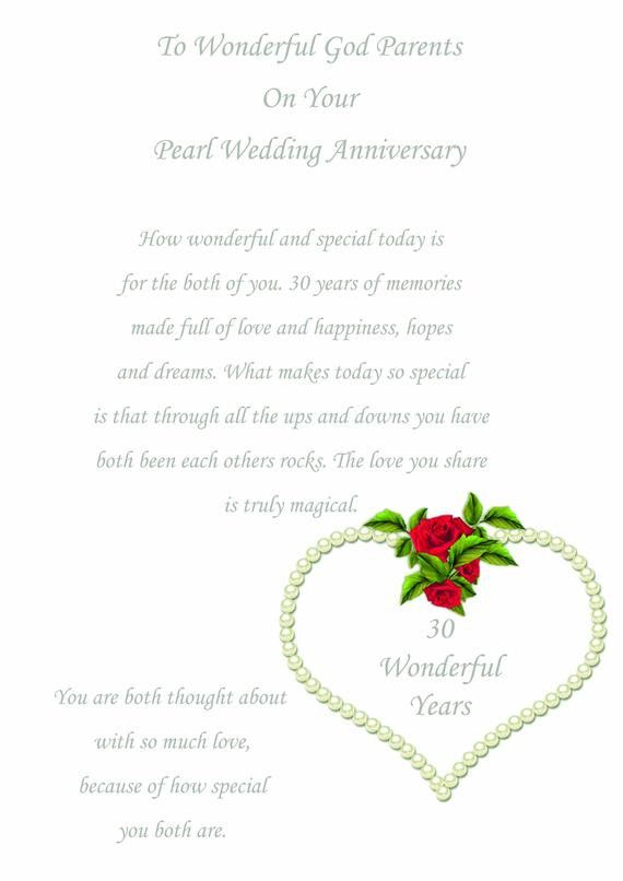 14 Awesome Pearl Wedding Anniversary Card Stock Wedding Anniversary Cards Anniversary Cards Wedding Anniversary