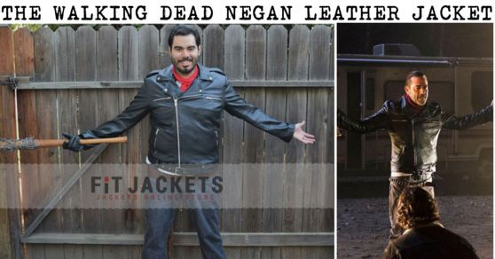 Get a Stylish new The Walking Dead Negan Leather Jacket for sale. This Dead Negan Leather Jacket for sale at discounted price at our online store fit jackets!!!  #TheWalkingDead #TVseries #Blackfriday #Costume #jeffreydean #cheezburger #geektyrant #geek #Sexy #Hot #geekcheezburger #Celebrities #Cosplay #Fashion #sale #Shopping #MensFashion #MensOutfit #StyleMens