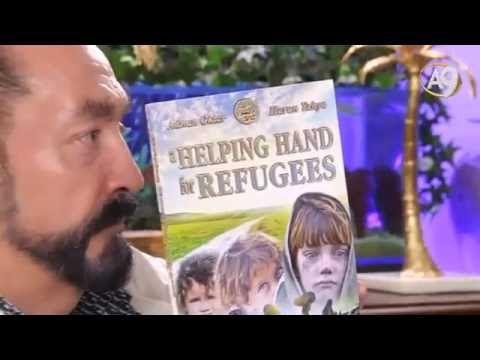 Sn. Adnan Oktar'ın 'Mültecilere Yardım' kitabının İngilizcesi çıktı.