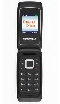 Consumer Cellular WX416 Cell Phone Is Evertything You Want From a PhoneThe Consumer Cellular Motorola WX416 Cell Phone is easy on the eyes and ears. Even though this user-friendly flip... More Details