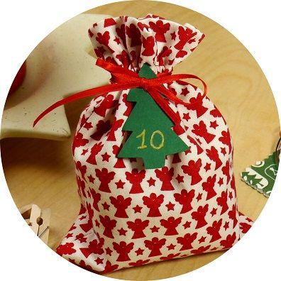 Adventskalender zum Selbernähen #weihnachten  #advent  #adventskalender #adventskalenderselberbasteln #diy