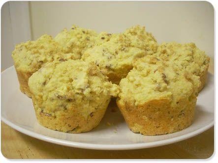 Pecan Cornmeal Muffins | Muffins | Pinterest