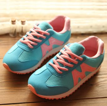 2014 spring child sport boys girls shoes big casual shoes toddler shoes running shoe  7 kids sneakers $37.86