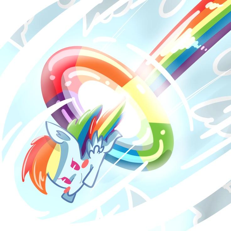Rainbow Dash Mlp My Little Pony Chibi Pinkie Pie Rainbows Cartoons Friendship