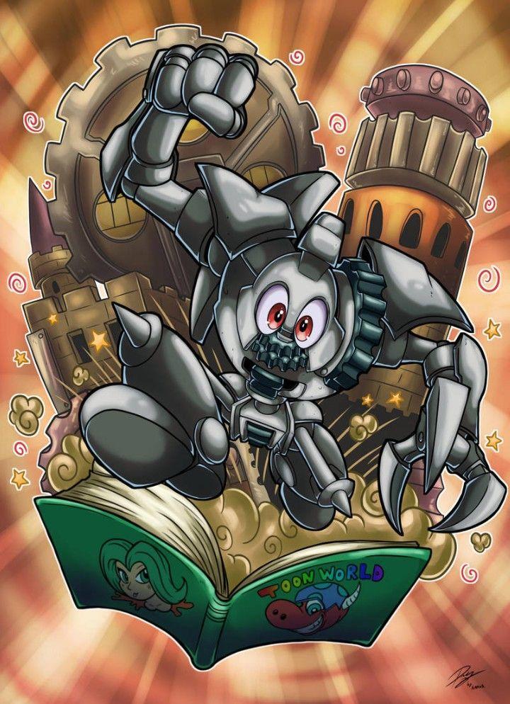 Ancient Gear Golem - Toon World, Yu-Gi-Oh!   Toon   Yugioh