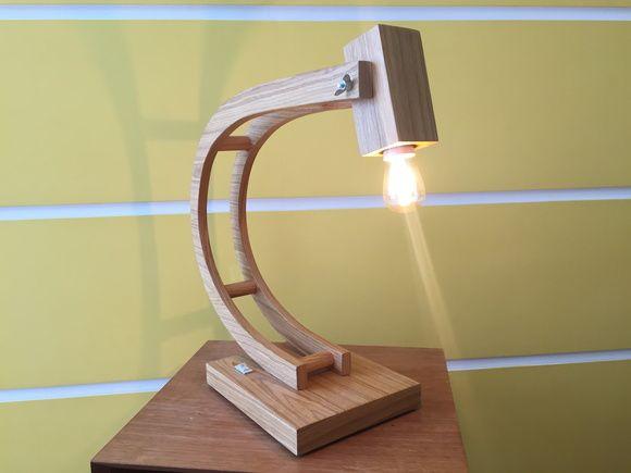 Luminária Mesa UNIQUE Peça Exclusiva  Designer Adalberto