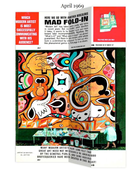 Al Jaffee, MAD Magazine Fold In