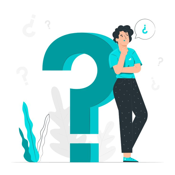 Questions By Freepik Stories Svg Png Illustration People Doubt Question Mark Think This Or That Questions Illustration Adobe Illustrator Design
