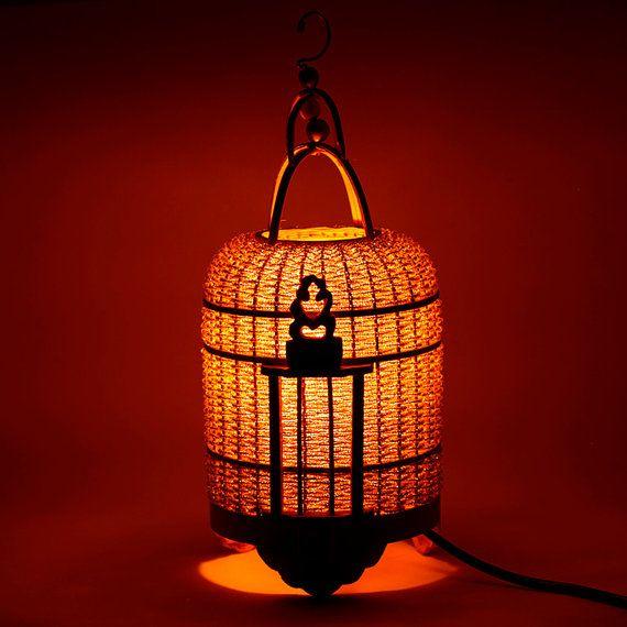 bamboo lamp bamboo candle holders bamboo lantern di Namigurumi