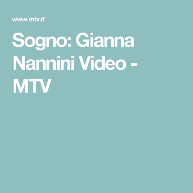Sogno: Gianna Nannini Video - MTV