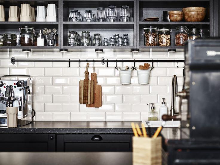 METOD keuken | #IKEA #IKEAnl #landelijk #inspiratie #interieur #koken