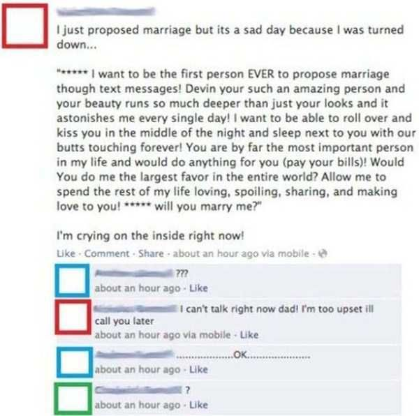 Huh?! Ridiculous Marriage Proposals To Which The Answer Will Be No • Page 4 of 6 • BoredBug