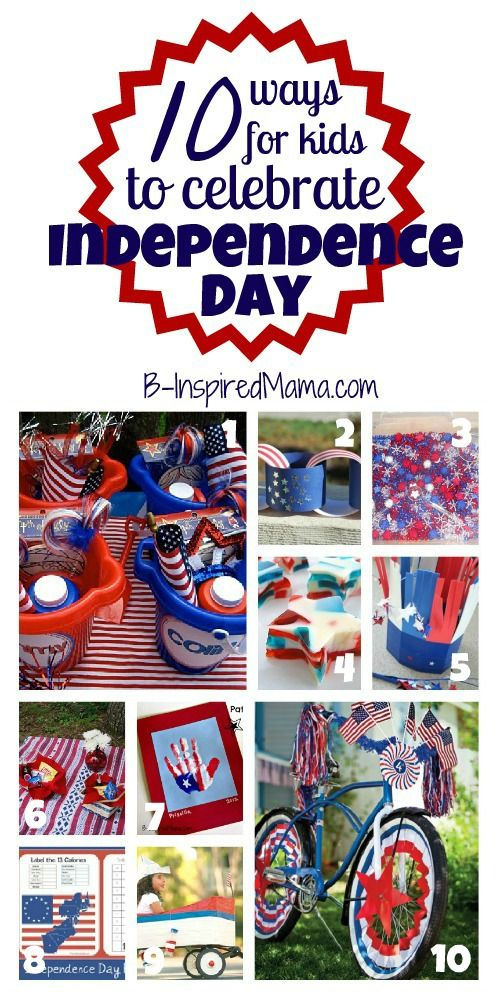 FUN ways for kids to celebrate July 4th