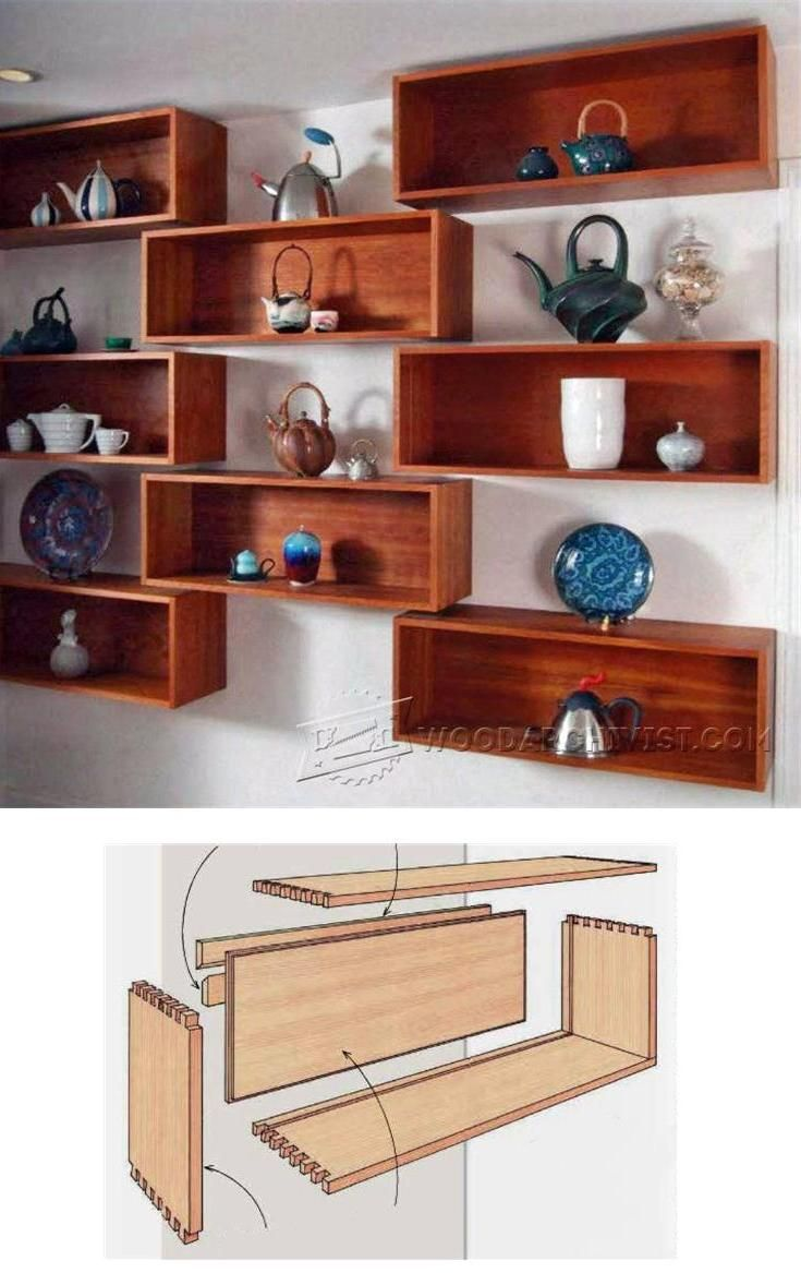 wall shelves plans woodworking plans and projects woodarchivist com