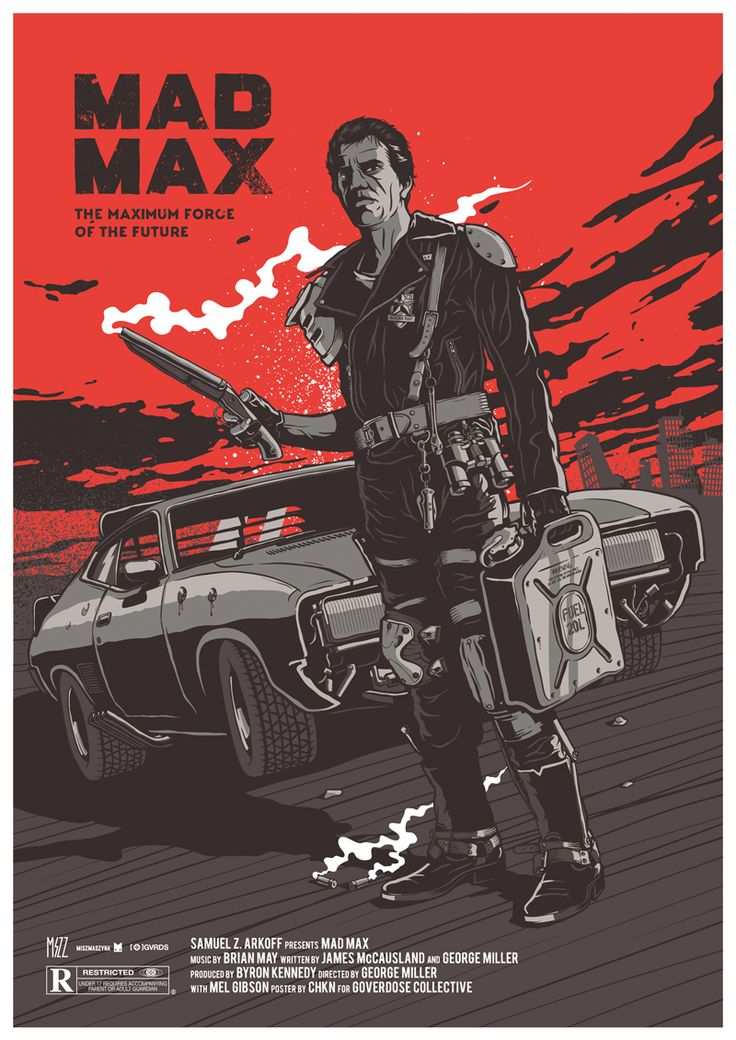 """""""Mad Max"""" by Krzysztof Nowak from Goverdose artpack 7"""