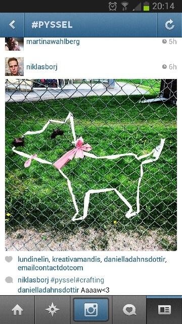 Smycka staketet på runt förskolans tomt ;)