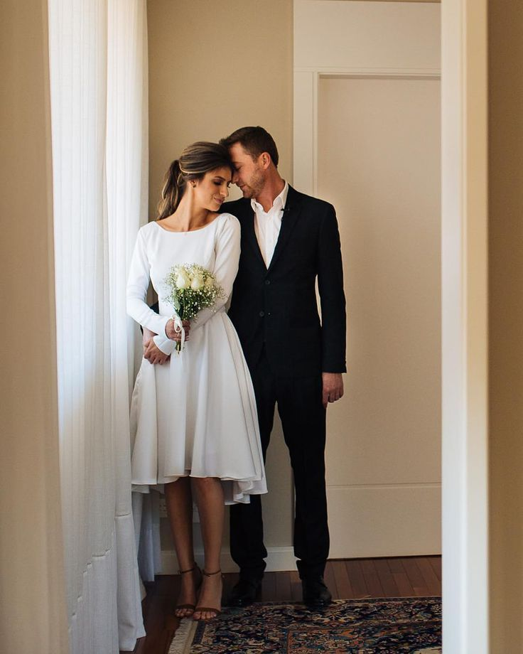 Civil Wedding Outfit Ideas To Marry In Style My Sweet Engagement In 2020 City Hall Wedding Dress Simple Wedding Dress Short Civil Wedding Dresses