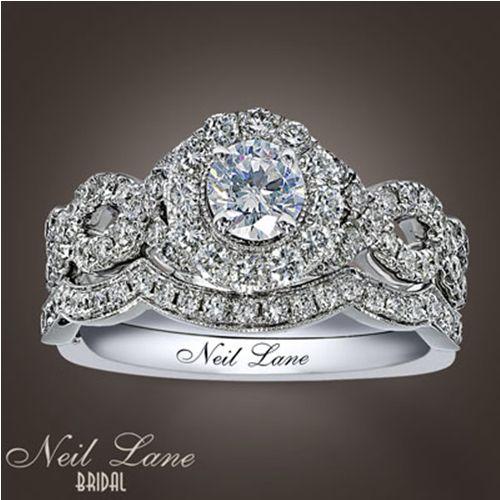 neil lane engagement ring and wedding bandthis is my set modern - Neil Lane Wedding Ring