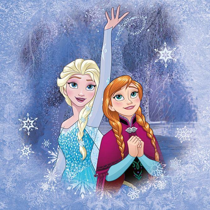 Холодное Сердце: Новые официальные картинки с Эльзой, Анной и другими