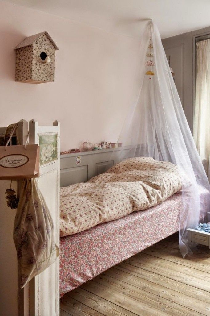 17 mejores ideas sobre camas con dosel de ni a en - Dosel cama nina ...