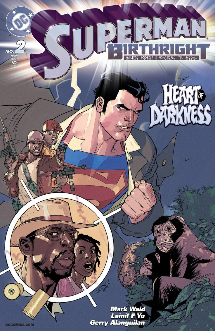 Superman: Birthright Vol. 1 #2 Art by: Leinil Francis Yu and YuGerry Alanguilan