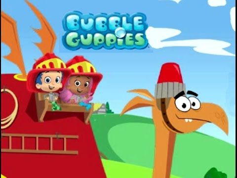 Bubble Guppies Firefighter Knight to the Rescue Hidden Treasure Kids Gam...