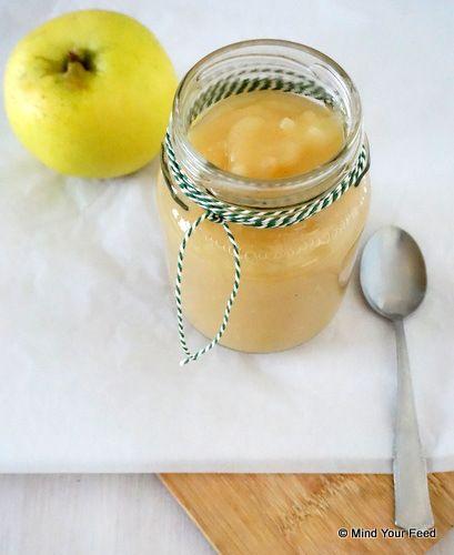 zelf appelmoes maken zonder suiker