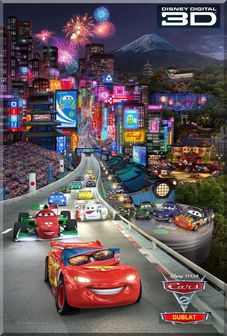 CARS 2 3D: Animatie / Aventura / Actiune / Dublat