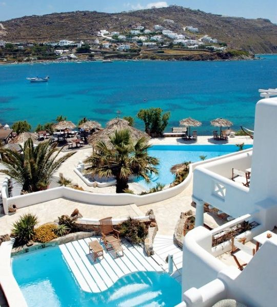 Kivotos Hotel / MykonosMykonos Greece, Swimming Pools, Buckets Lists, Favorite Places, Inspiration Photography, Vacations, Beach, Travel Destinations, Kivotos Hotels
