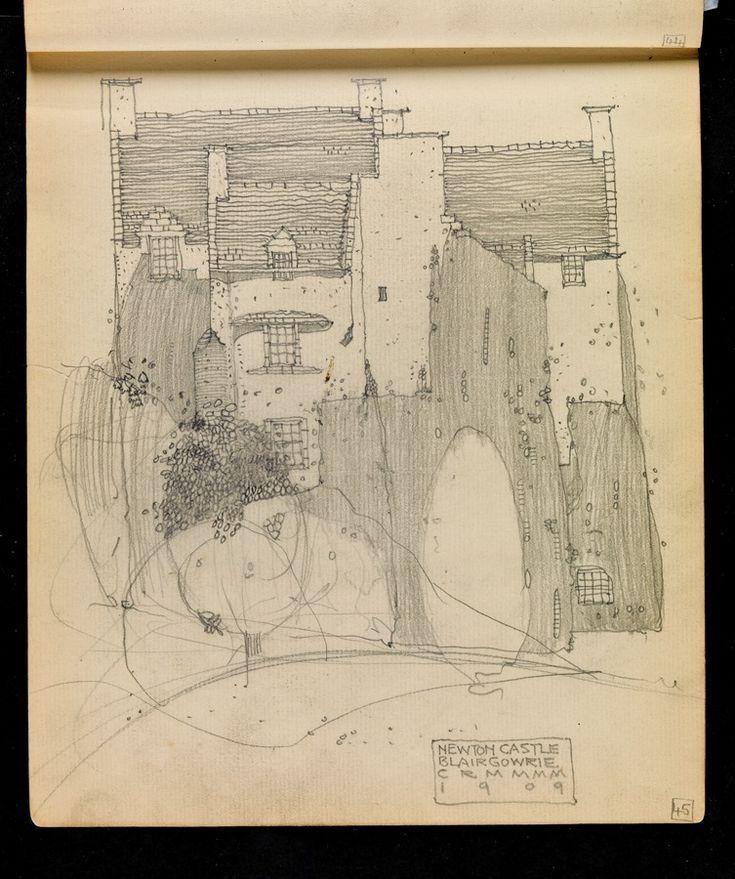 Hunterian Art Gallery Mackintosh collections: GLAHA 53014/24