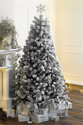 Christmas - 7ft Frosted Christmas Tree | Christmas tree and deco | Christmas,  Frosted christmas tree, Christmas Tree - Christmas - 7ft Frosted Christmas Tree Christmas Tree And Deco