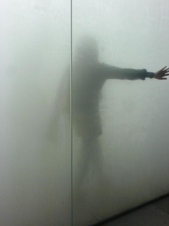 Antony Gormley, blind light - one of my favorite exhibitions ever.