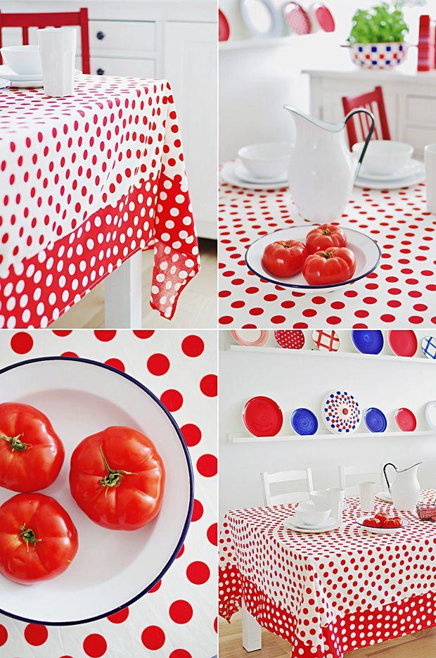 how to change bedcloth to tablecloth  DIY http://tytuurzadzisz.pl/taki-obrus-przyda-sie-w-kazdym-domu/