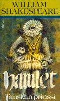 """Onko kaunosieluista kyborgeiksi?: Shakespeare: """"Hamlet - Tanskan prinssi"""" [1599]"""
