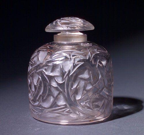 R. LALIQUE Perfume bottle, Epines Flacon No. 4,