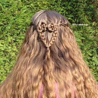 Miriam's Vlecht Lessen (Miriam's braiding instructions): Watervalvlecht // Waterfall braid