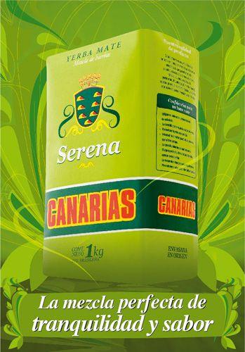 Canarias Serena, yerba mate