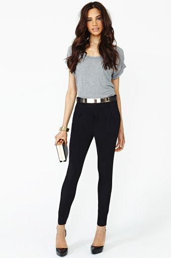 Cut To The Lace Top Trousers Pants And Bar