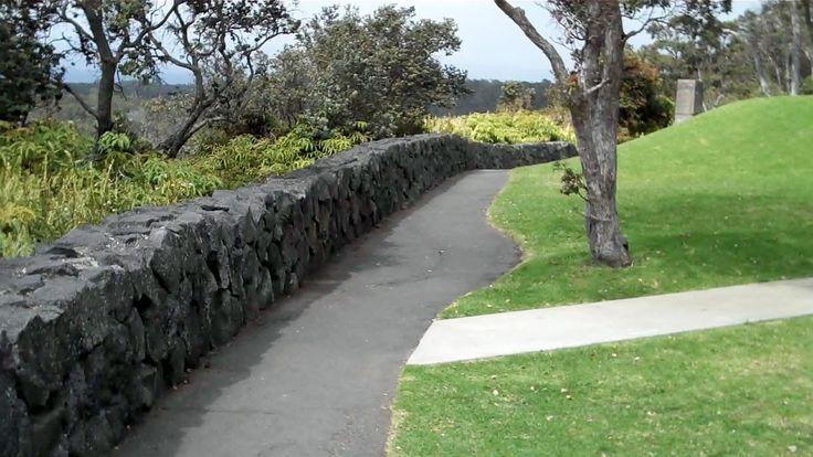 lava rock wall hawaii