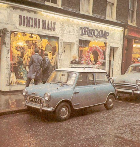 Tre Camp, Carnaby Street, late 1960s