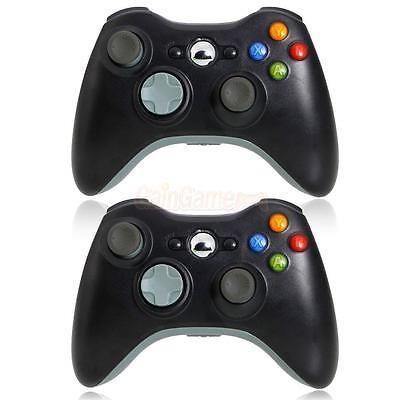 2Pcs Hot Sale Wireless Game Remote Controller for Microsoft Xbox 360 Console CA