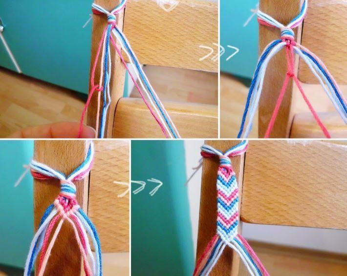 Muster für Freundschaftsarmbänder – 14 DIY-Tutorials für zu Hause oder unterwegs   – Bracelet diy