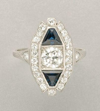 Antique Estate Platinum Engagement Rings New York Diamond District
