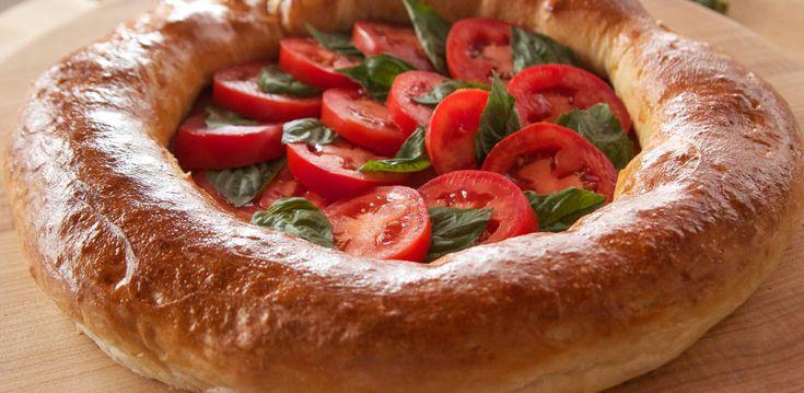 Stuffed Pizza Crust By Ree Drummond