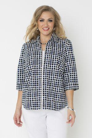 5115 Cotton Blocker Zip Front Jacket