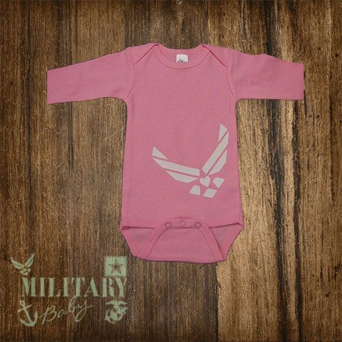 Airforce Baby Clothing by MilitaryBaby2013 on Etsy, $15.00 https://www.etsy.com/listing/163367869/airforce-baby-clothing?ref=shop_home_active
