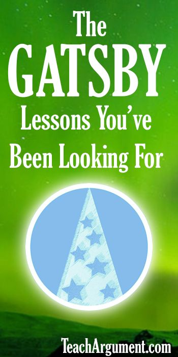 Literature Based High School English Lesson Plans You'll Love. AWESOME New Twists On Gatsby!